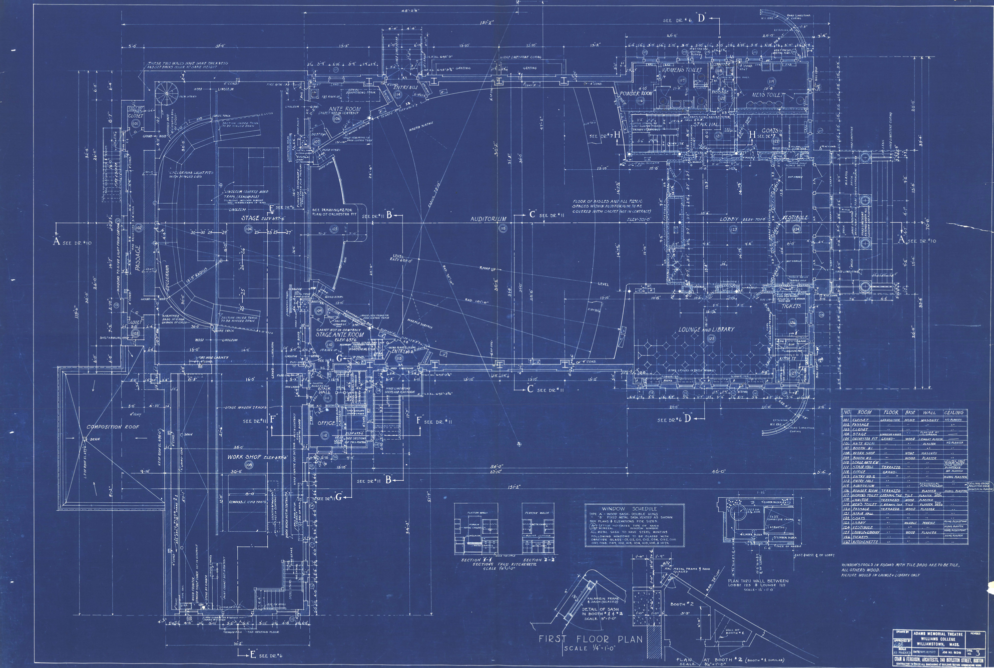 Blueprints for Print architectural plans