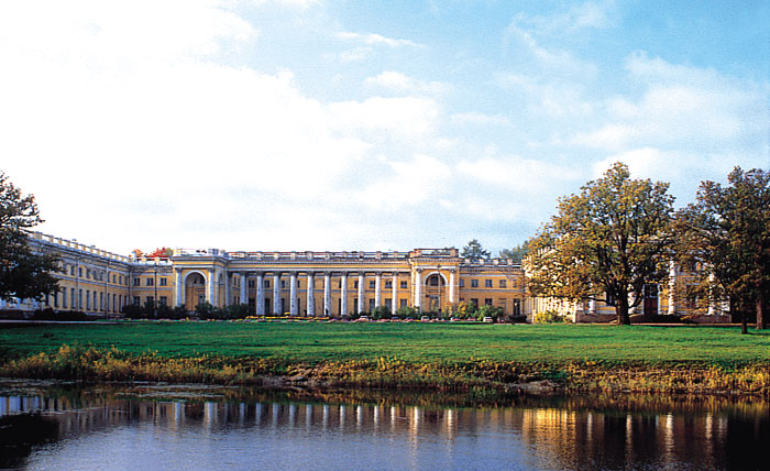 Palace at Tsarskoe Selo
