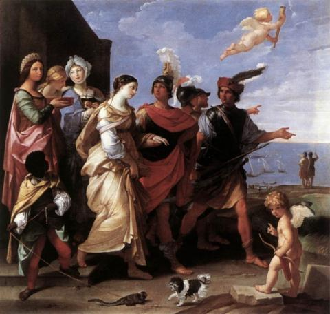 Abduction of Helen - Guido Reni (Illustration) Legends and Legendary People Social Studies Ancient Places and/or Civilizations Visual Arts Fiction
