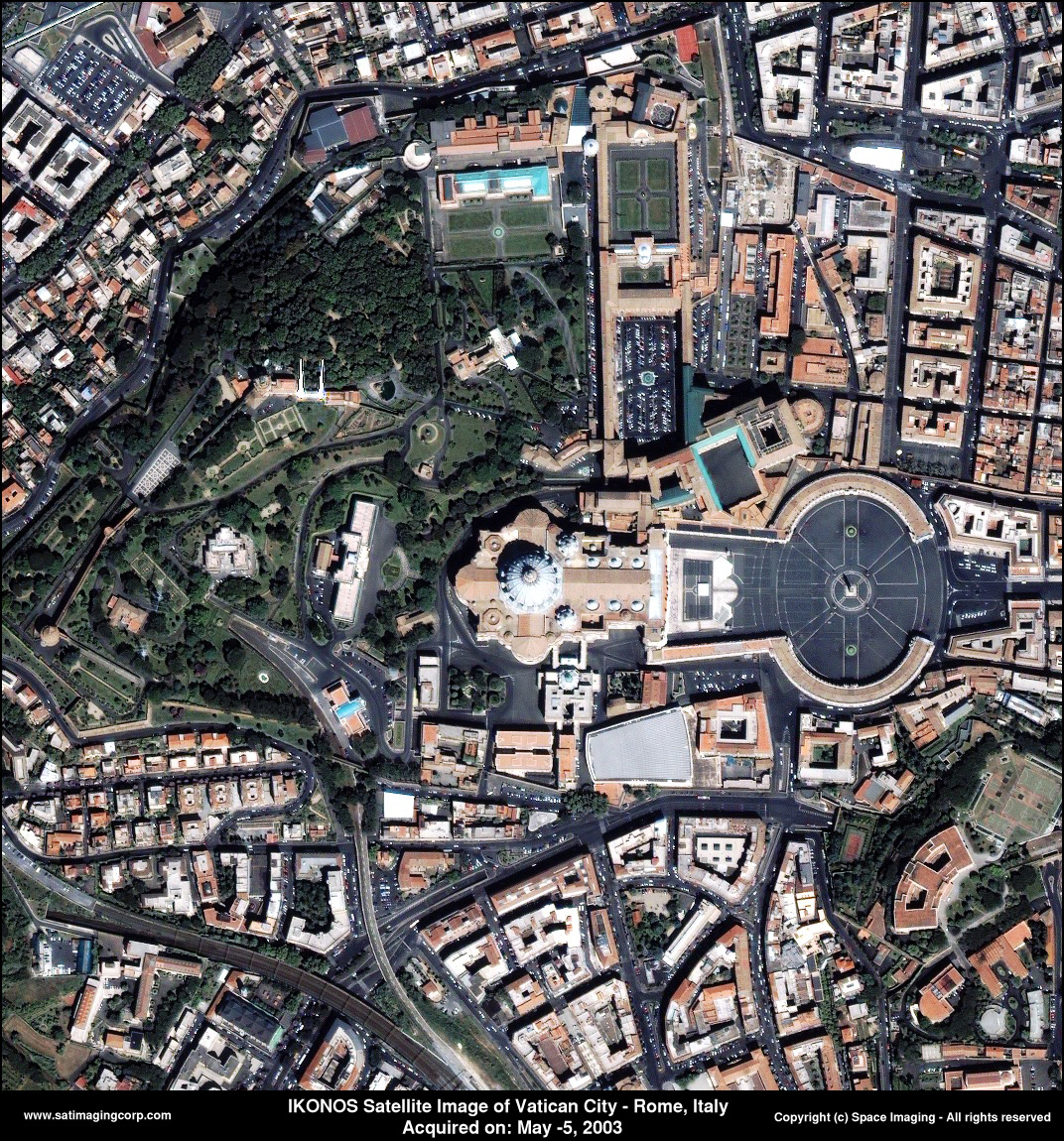 How Many Buildings In Vatican City