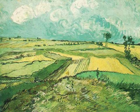 Wheat Fields at Auvers under Clouded Sky - July, 1890 Social Studies Tragedies and Triumphs Visual Arts Nineteenth Century Life Famous People