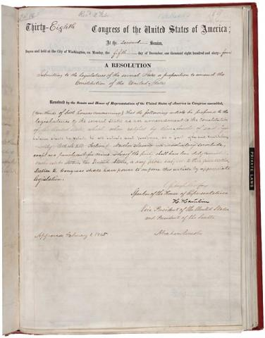 Resolution for the 13th Amendment American History Biographies Civil Rights Famous People History Social Studies Government