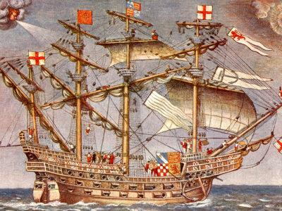 BRITISH SHIPS (Illustration) Geography Government History Legends and Legendary People Social Studies Tragedies and Triumphs World History