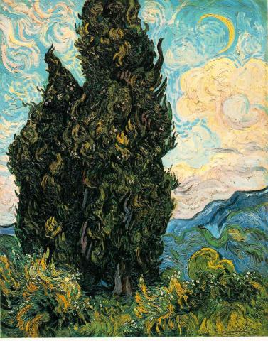 June, 1889 - Vincent's Cypresses Biographies Tragedies and Triumphs Nineteenth Century Life Visual Arts