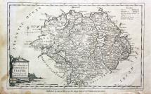 1780 Map of Ulster