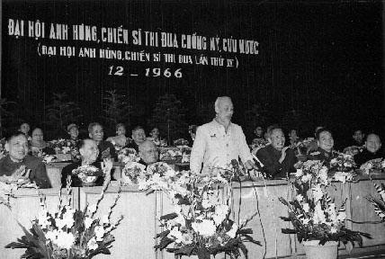 Ho Chi Minh at the Party Congress Famous People History Social Studies Tragedies and Triumphs
