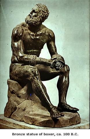 Bronze Statue of a Boxer Ancient Places and/or Civilizations Social Studies Sports Visual Arts