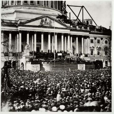Abraham Lincoln - At His First Inauguration Tragedies and Triumphs American History Biographies Famous Historical Events Famous People Government
