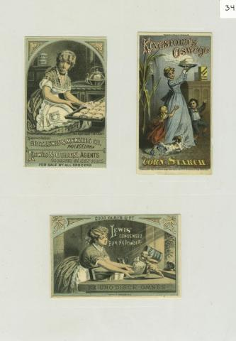 Ads on Prang's Cards American History Awesome Radio - Narrated Stories Social Studies Visual Arts