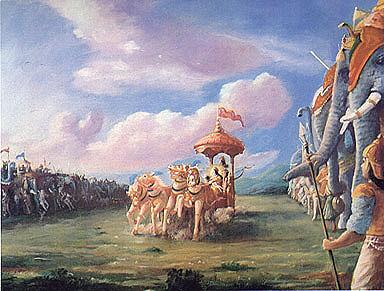Battlefield Arjuna And The Bhagavad Gita