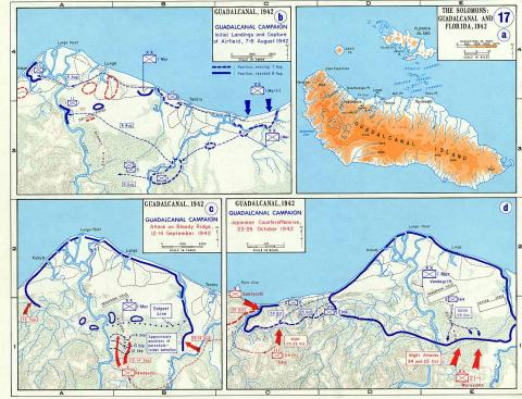 Allied Offensive - Battle Plan of Guadalcanal American History World War II