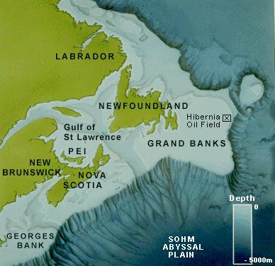 Location grand banks