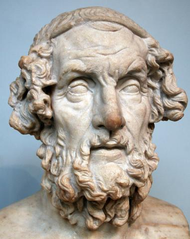 Bust of Homer Ancient Places and/or Civilizations Famous People Social Studies Visual Arts