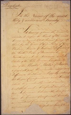 Treaty of Paris, Granting American Independence