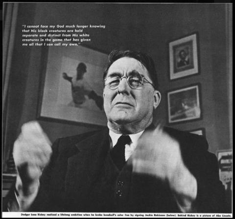 Branch Rickey American History Famous People Social Studies Sports Visual Arts