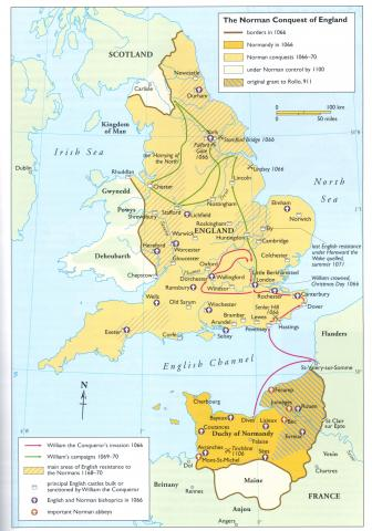 William the Conquerer - Invasion Map World History Famous Historical Events Geography History Social Studies