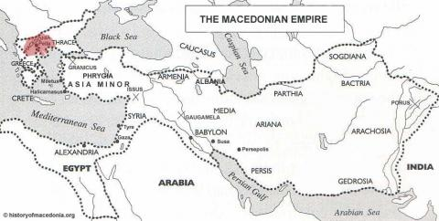 The Macedonian Empire Ancient Places and/or Civilizations Social Studies World History Geography