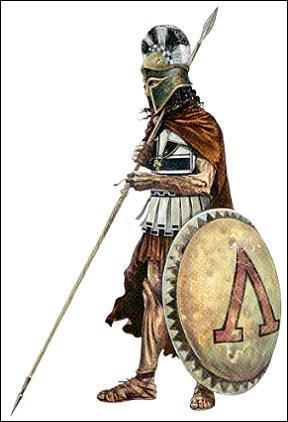 Spartan War Shield World History Ancient Places and/or Civilizations Geography History Social Studies