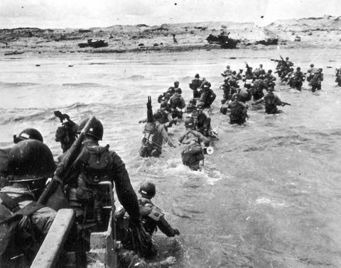 UTAH BEACH (Illustration) World History Famous People Geography Social Studies Visual Arts American History Famous Historical Events World War II