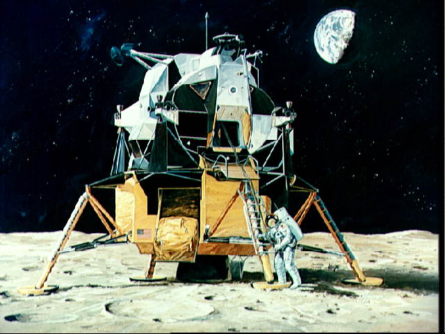 apollo the first space flights to the moon - photo #10
