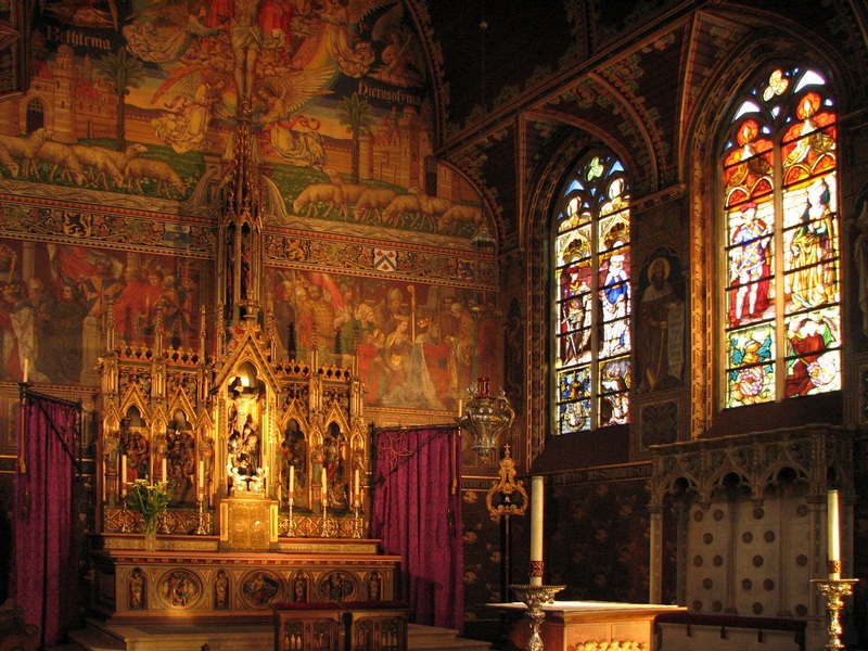 Medieval Church And Stained Glass Windows Times Philosophy Visual Arts Geography