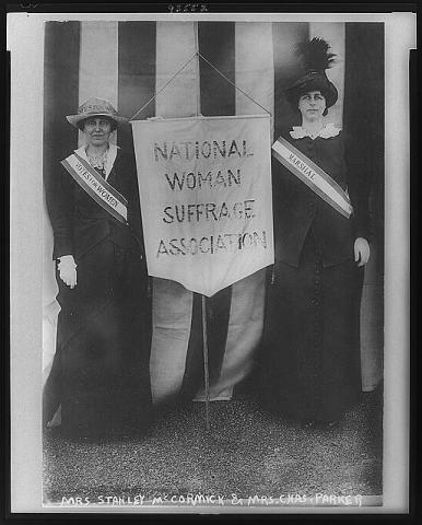 National Woman Suffrage Association Civil Rights American History Law and Politics Social Studies