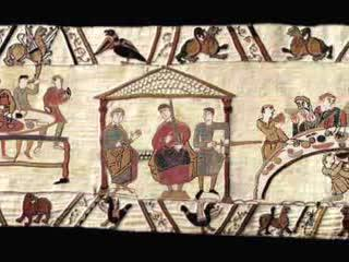 Halley's Comet - Animated Version of Bayeux Tapestry