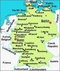 Map Depicting Friedrichshafen