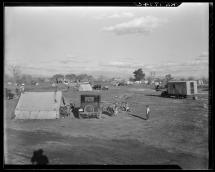 Great Depression Hooverville at the Town Dump