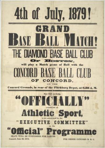 Early Baseball Poster American History Sports Tragedies and Triumphs Social Studies