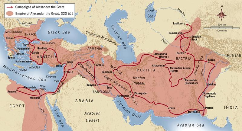ALEXANDER S JOURNEY IN PICTURES Alexander The Great on 12 Early Civilizations
