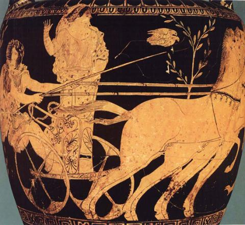 The Bride on a Greek Vase Ancient Places and/or Civilizations Sports Tragedies and Triumphs Visual Arts Ethics Legends and Legendary People