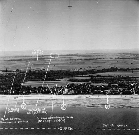...AND SWORD BEACH (Illustration) Famous Historical Events Geography History Social Studies World War II