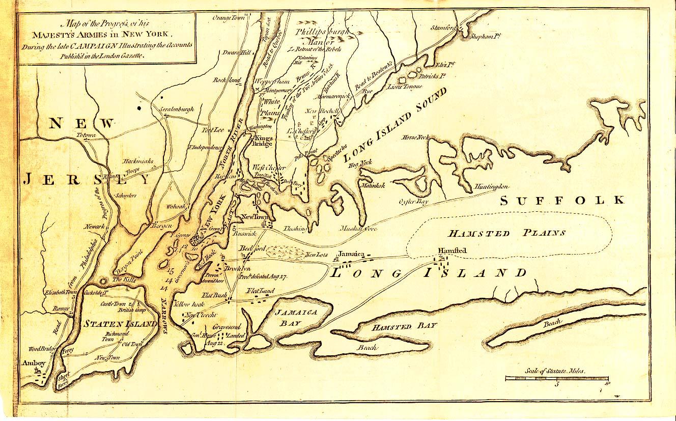 Washington39s Defeats Of 1776