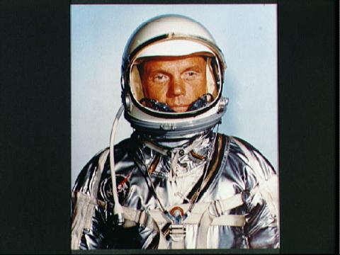 John Glenn - Space Suit Photo Famous Historical Events Famous People Aviation & Space Exploration STEM American History
