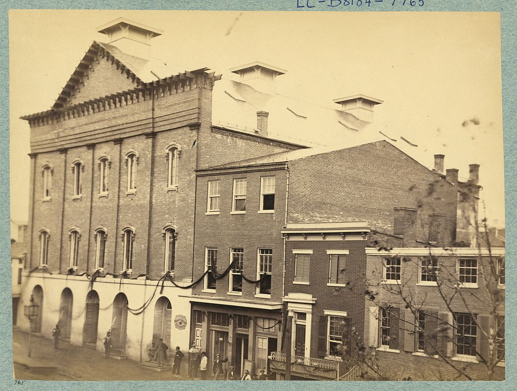 Ford's Theatre - Where Lincoln Was Shot Abraham Lincoln Assassination John Wilkes Booth
