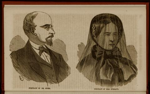 Mary Surratt and Dr. Mudd at the Trial Crimes and Criminals American History Famous Historical Events Trials