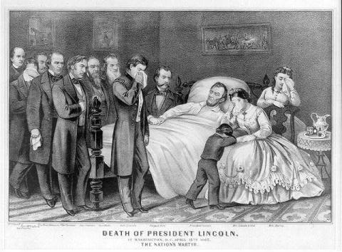 Death of President Lincoln American History Famous Historical Events Social Studies American Presidents Visual Arts