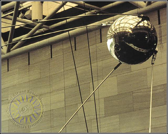 an analysis of the topic of the soviet satellite sputnik Exactly 60 years ago today, on october 4, 1957, the soviet union launched a small basketball-sized satellite called sputnik into orbit around the.