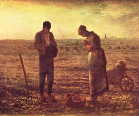Jean-Francois Millet - Angelus Tragedies and Triumphs Visual Arts Nineteenth Century Life
