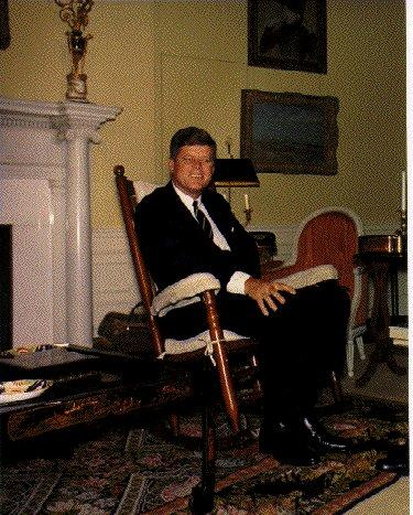 President Kennedy in His Rocking Chair American History Famous Historical Events Famous People Social Studies American Presidents