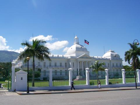 Haiti - Presidential Palace Disasters Geography World History
