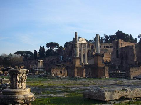 Roman Forum Ruins World History Ancient Places and/or Civilizations Archeological Wonders Geography Social Studies