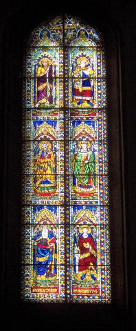 Florence - Stained-Glass at the Duomo Geography Medieval Times Philosophy Visual Arts