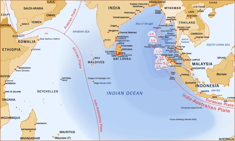 Maldives  Impacted by 2004 Tsunami