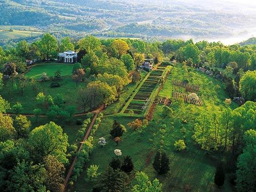 Jefferson 39 S Mountain Aerial Of Monticello