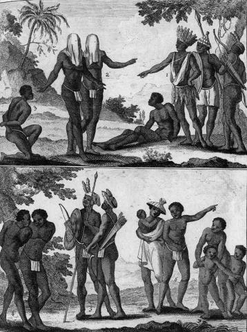 AFRICA, BEFORE SLAVERS (Illustration) Civil Rights Film Geography Law and Politics Social Studies Visual Arts World History Slaves and Slave Owners