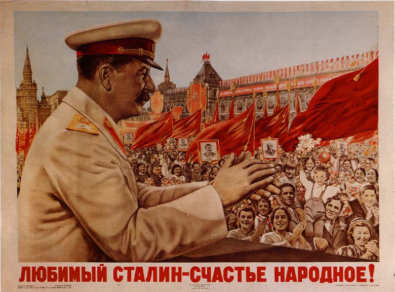 Soviet Poster Of Stalin Visual Arts Famous People Social Studies World History