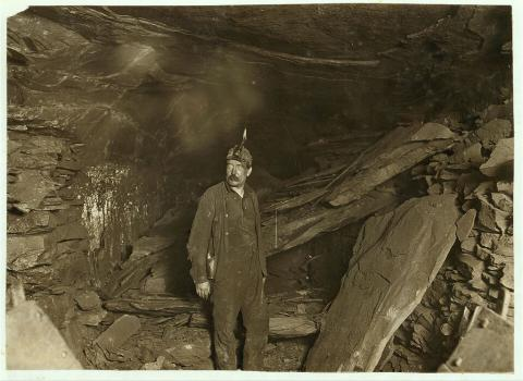 Mine Accident-Falling Slate