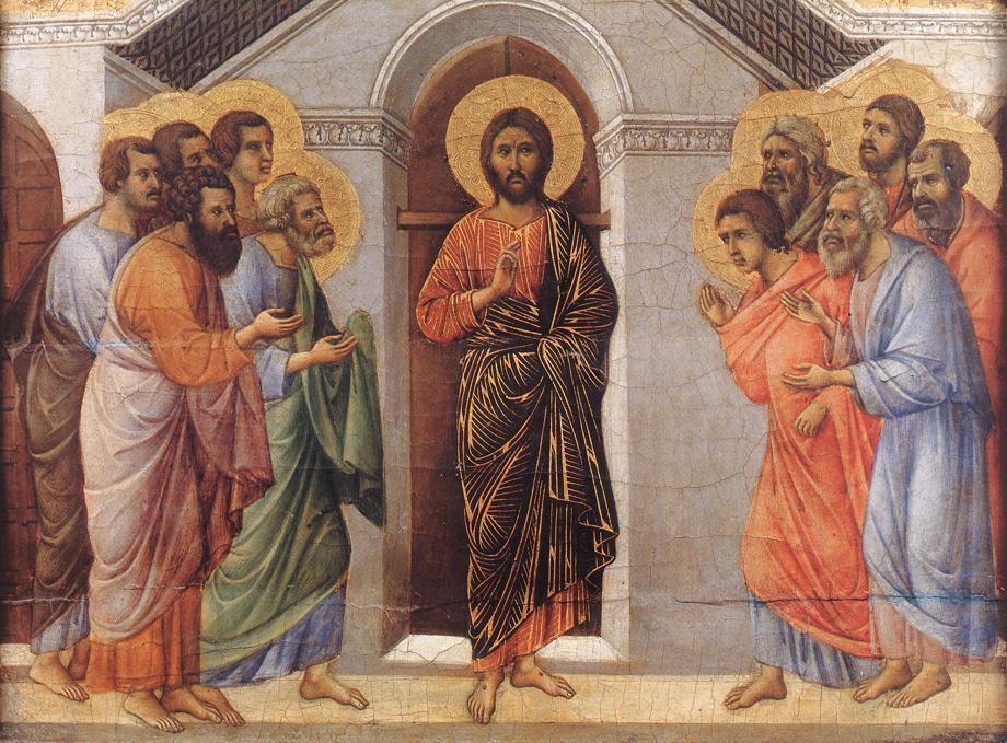 jesus visits his disciples. Black Bedroom Furniture Sets. Home Design Ideas